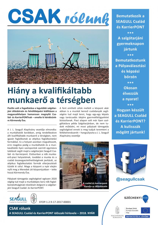SEAGULL – Csak rólunk – újság – 2018 – nyár – 2 (1)-1